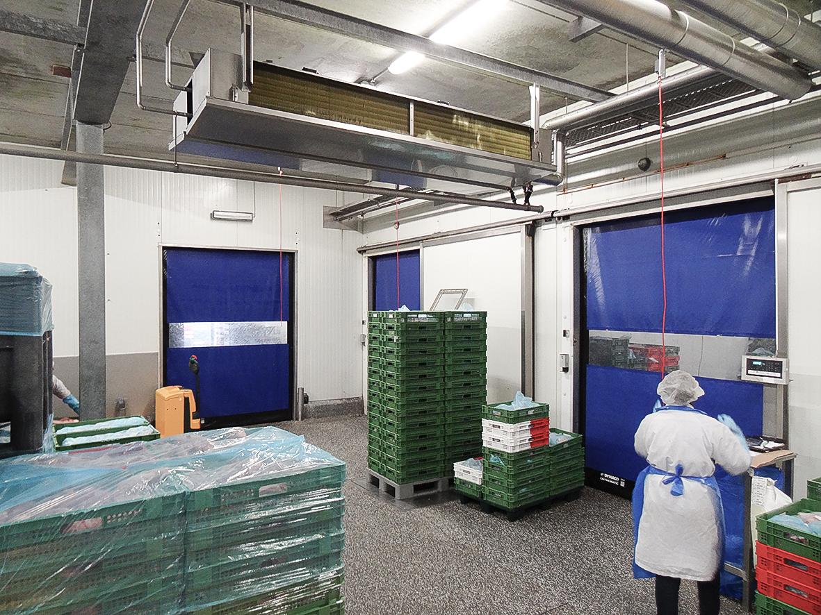 食品行业进口快速门