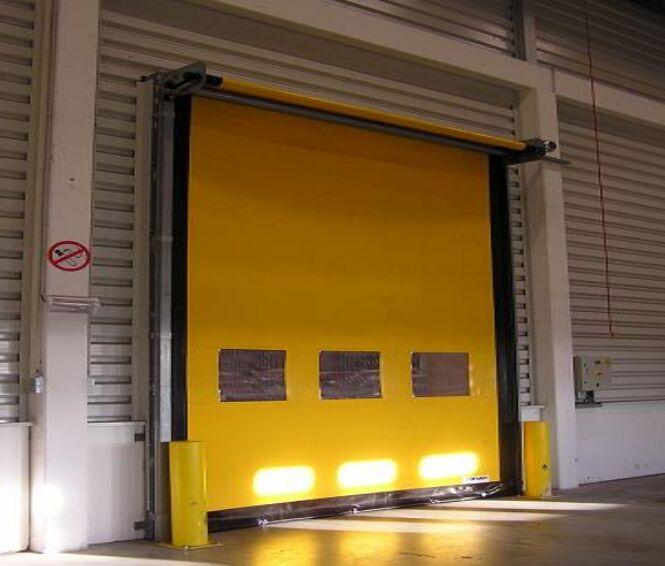 比利时进口冷库高速门